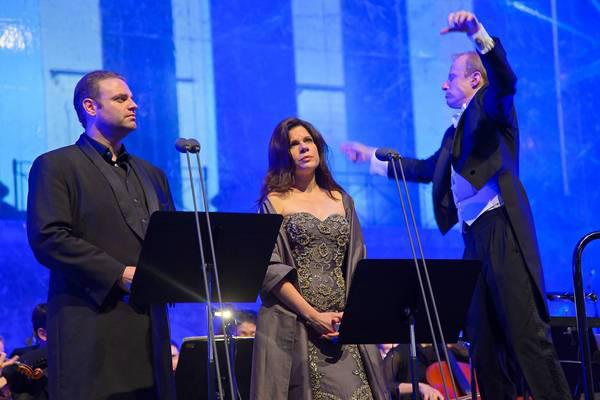 Joseph Calleja, Ana María Martínez és Jochem Hochstenbach