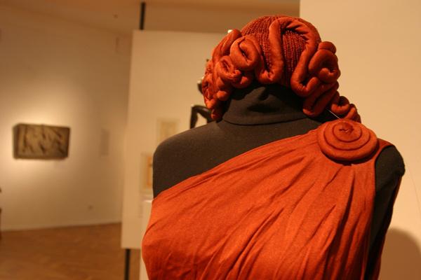 Mozdulat című kiállítás megnyitója az Iparművészeti Múzeumban