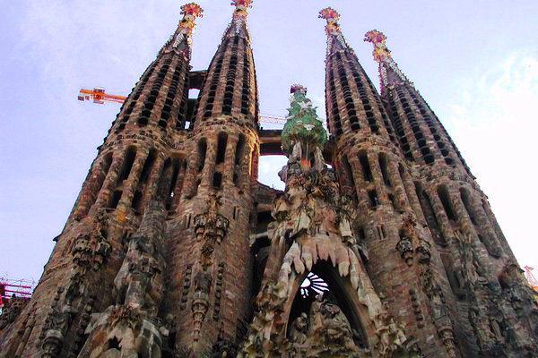 Antoni Gaudí (Sagrada Família) forrás: Facebook