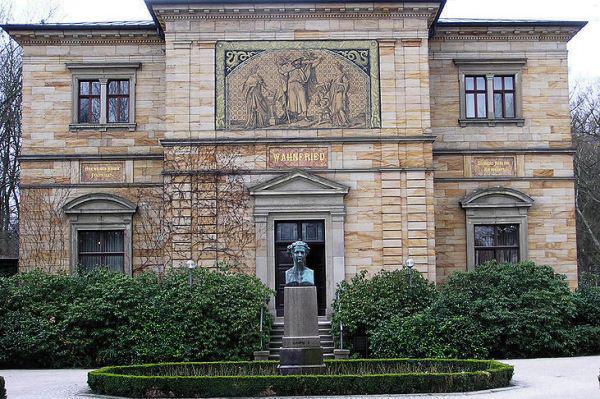 A Wahnfried-villa