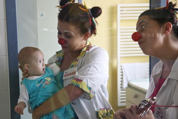 Bohócdoktorok a kórházban