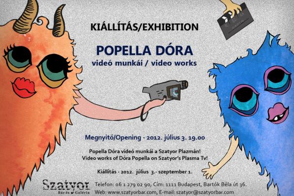 Popella Dóra (Szatyor Bár és Galéria)