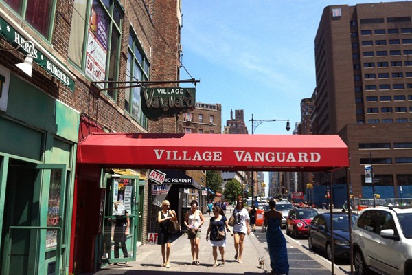 Village Vanguard - Jazzklubok New Yorkban
