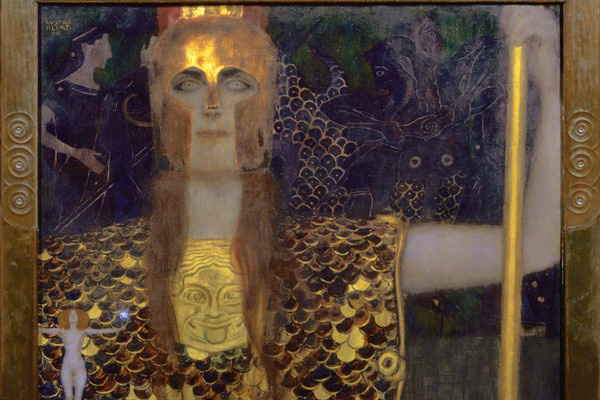 Gustav Klimt: Pallas Athene, 1898 - olaj, vászon
