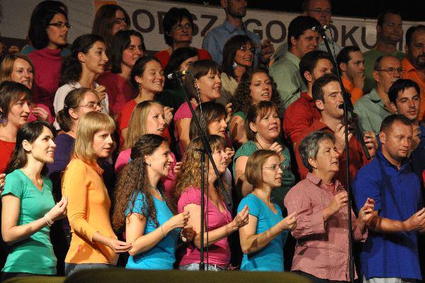 Kép a X. Gospel Fesztiválról