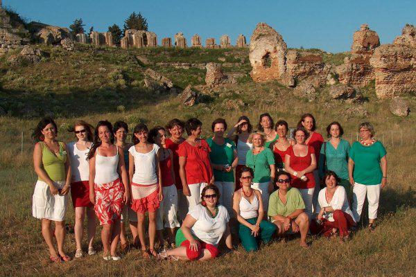 A Chorus Matricanus Görögországban