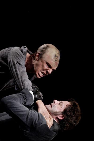 Benedict Cumberbatch, Jonny Lee Miller - Frankenstein - National Theatre, London