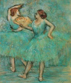 Edgar Degas: Két táncos (kb 1905)