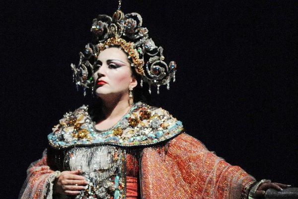 Lukács Gyöngyi Turandotként a Liceuban