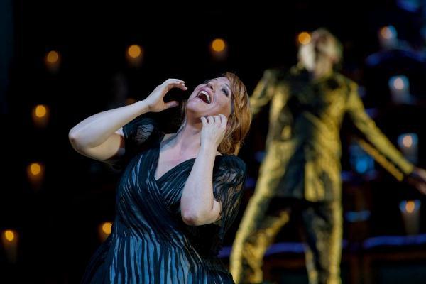 Emily Magee Ariadne szerepében az Ariadne Naxosban