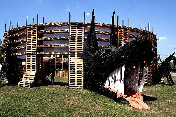 Sziget 2012 - 3. nap (Hello Wood) forrás: Facebook