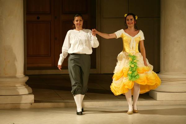 Figaro házassága - Heiter Melinda, Sáfár Orsolya - Iseumi Szabadtéri Játékok