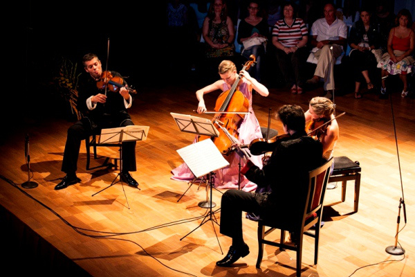 Kelemen Kvartett - Kaposvári Nemzetközi Kamarazenei Fesztivál 2012