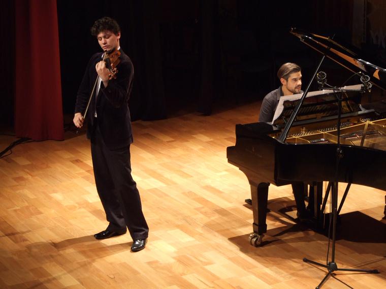 Homoki Gábor és José Gallardo