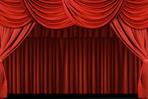 színházi függöny
