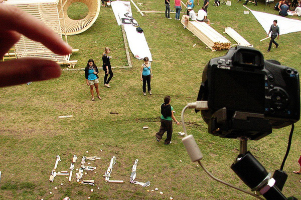 Stop motion workshop (Hello Wood, MOME line)