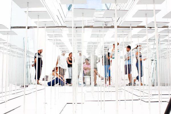 Bachmann Bálint, Markó Balázs: Spacemaker (13. Velencei Nemzetközi Építészeti Kiállítás - Velencei Biennále 2012) Műcsarnok