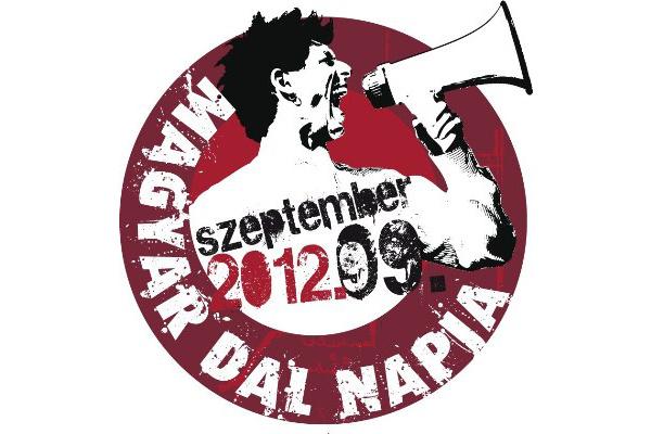 Magyar Dal Napja logo 2012