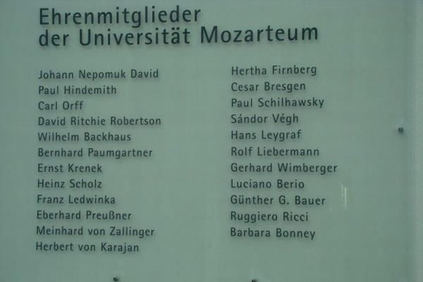 Mozarteum, Salzburg
