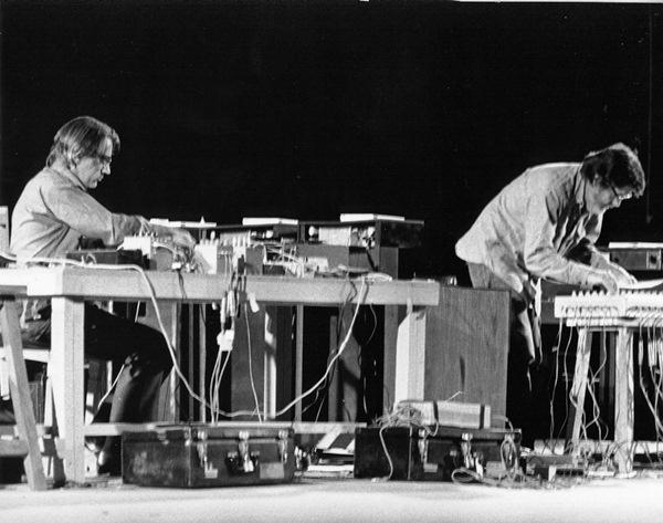 1971 Shiraz Art Festival: David Tudor és John Cage (a Cunningham Dance Foundation archívuma