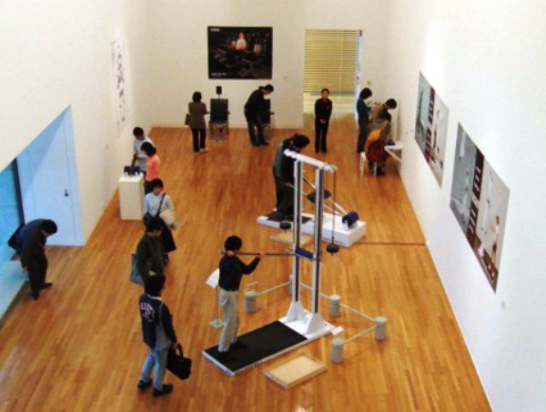 Lakner Antal: INERS gyakorló-terem (2006) - Ludwig Múzeum