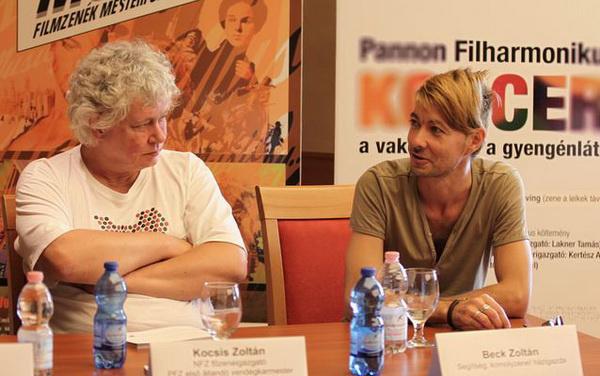 Kocsis Zoltán és Beck ZoltánPannon Filharmonikusok sajtótájékoztató, 2012 szeptember, Pécs