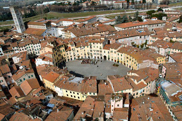 Lucca, Toszkána