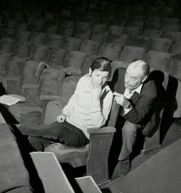 Várkonyi Zoltán és Marton László - Várkonyi Zoltán-kiállítás a Bajor Gizi Színészmúzeumban