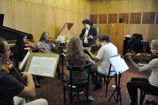 Szokos Augustin és a Budapest Bach Concert