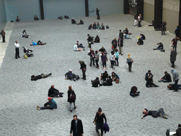 Ai Wei Wei: Napraforgók (Tate Modern Turbine Hall 2010)
