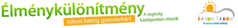 Élménykülönítmény logó