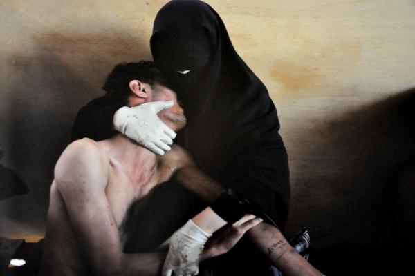 World Press Photo 2012 (Néprajzi Múzeum) - Samuel Aranda, Spanyolország, a 2011-es World Press Photo győztese