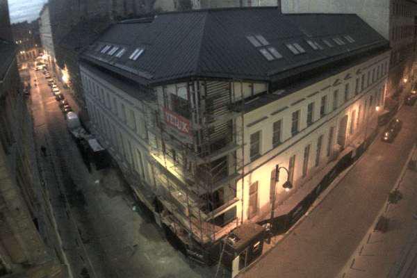 A Budapest Music Center épülő központja a Market Zrt. toronydarujának webkameráján