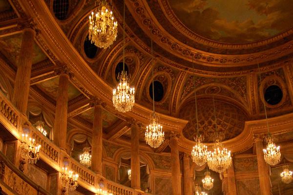 A versailles-i Opéra Royal mennyezete