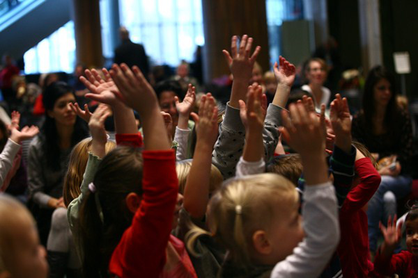 Müpa gyerekközönség