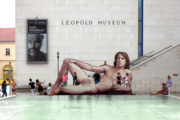 Leopold Múzeum: Meztelen férfiak 1800-tól napjainkig