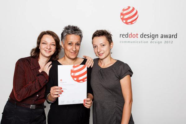 Kassák Múzeum, Red Dot díj 2012 (kommunikációs design)