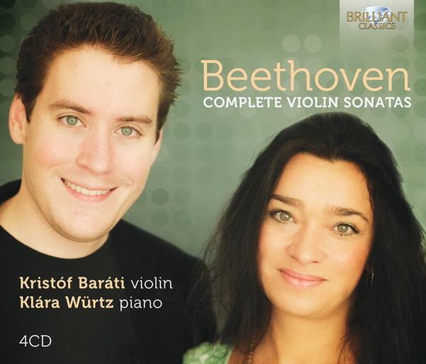 Baráti Kristóf, Würtz Klára, Beethoven, Brilliant Classics