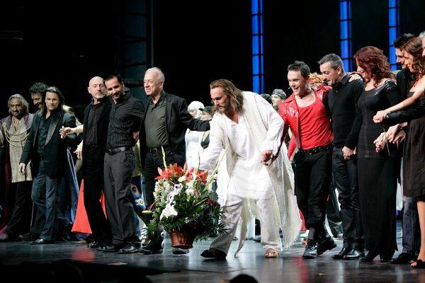A Jézus Krisztus Szupersztár 100. előadása a Madách Színházban