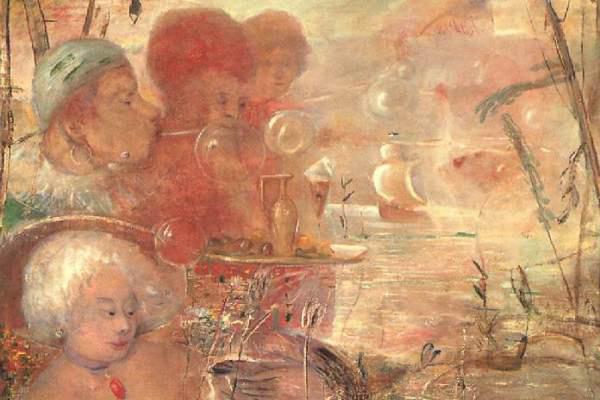Gulácsy Lajos: Az ópiumszívó álma, 1913-1918