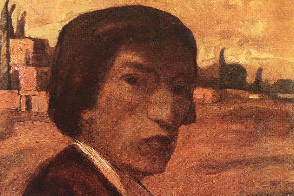 Gulácsy Lajos: Önarckép, 1903