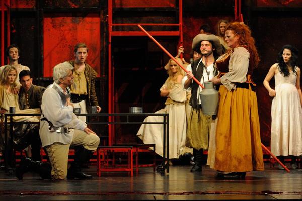 La Mancha lovagja - Szegedi Nemzeti Színház