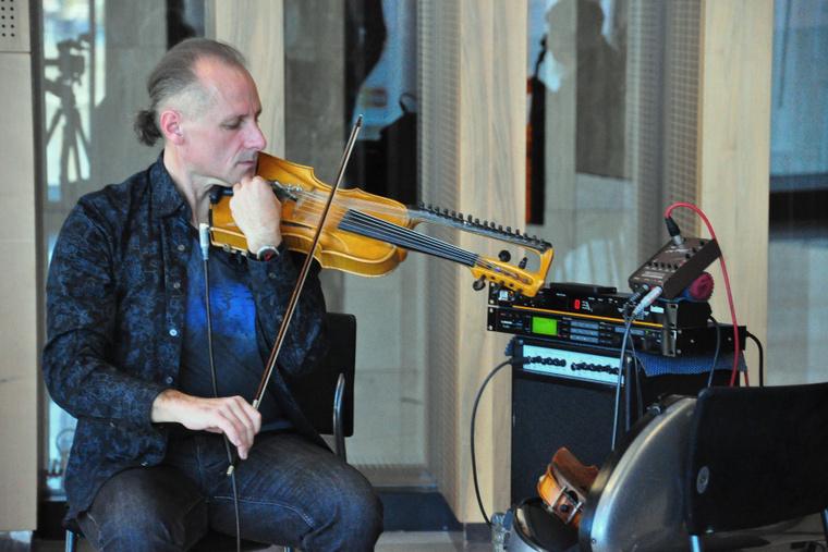 Violin-kulcs sajtóbeszélgetés a Müpa Üvegteremben 2012.11.14-én