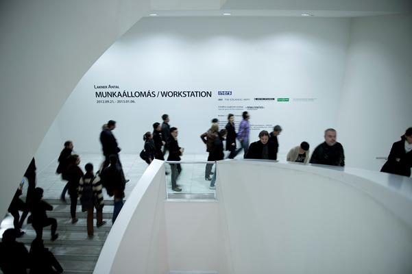 Lakner Antal: Munkaállomás, Ludwig Múzeum