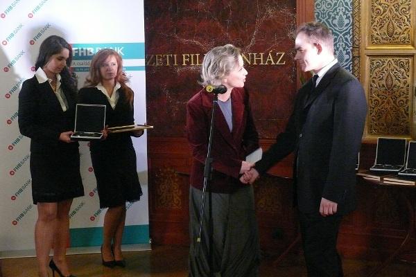 Eszenyi Enikő, Orosz Ákos - Junior Prima Díj