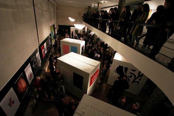 Graphifest 2012, megnyitó (Design Terminál) - forrás: Facebook