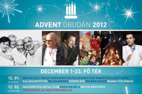Advent Óbudán 2012