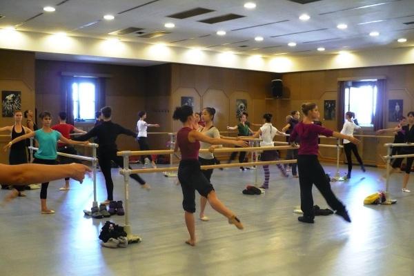 A Magyar Nemzeti Balett művészei próbálnak