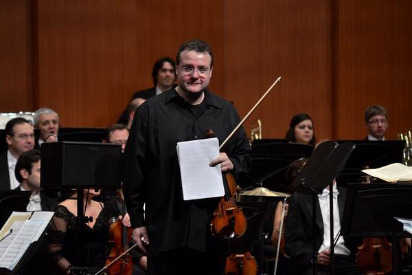 Bujtor Balázs a Miskolci Szimfonikusok 2012. november 19-i koncertjén