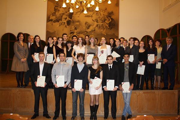 Az Erste az elsőkért nevű ösztöndíj 2012-es nyertes pályázói